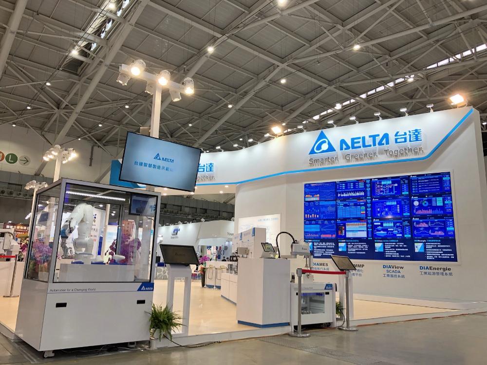 台达电力推完整智能工厂行业方案 自动化工业展亮相