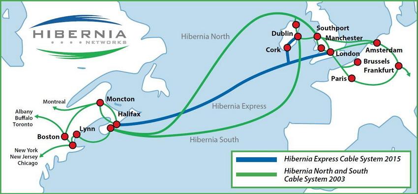 爱尔兰安全机构怀疑俄罗斯试图监听跨大西洋海缆
