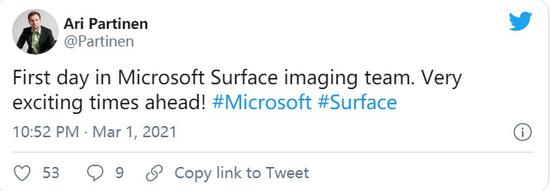 诺基亚Lumia影像大牛加入微软Surface团队,可望大幅提升拍照